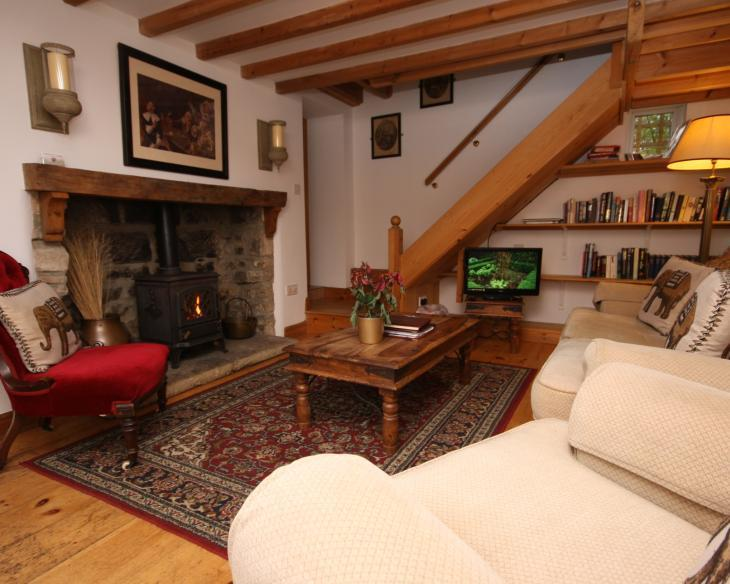 Blackbird Cottage snug cosy lounge with abundance of reading books - Blackbird Cottage Rated Excellent on Trip Advisor - Whitby - rentals