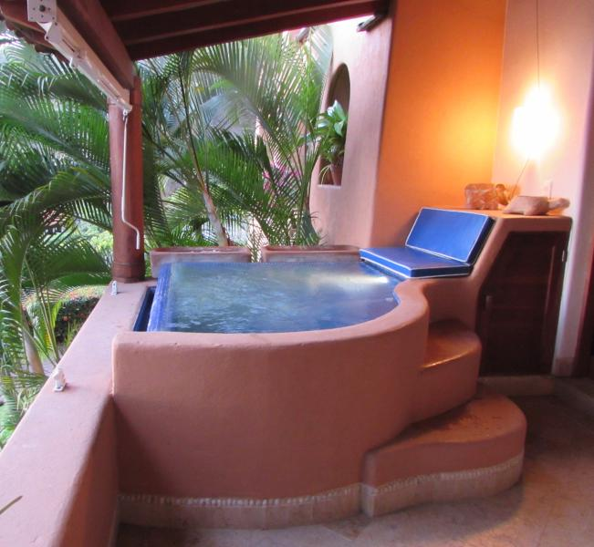 Dipping pool - Casa Cazadora on La Ropa Beach - Zihuatanejo - rentals