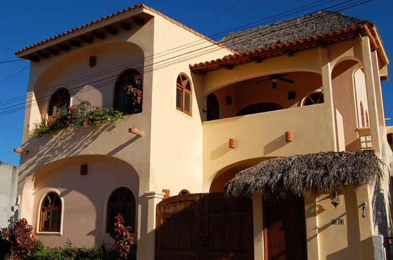 Street view - Casa de los Milagros - Duplex in town! - San Panch - San Pancho - rentals
