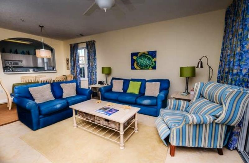 Ceramic Tile Flooring - Land Your Feet at Barefoot Landing Resort - North Myrtle Beach - rentals