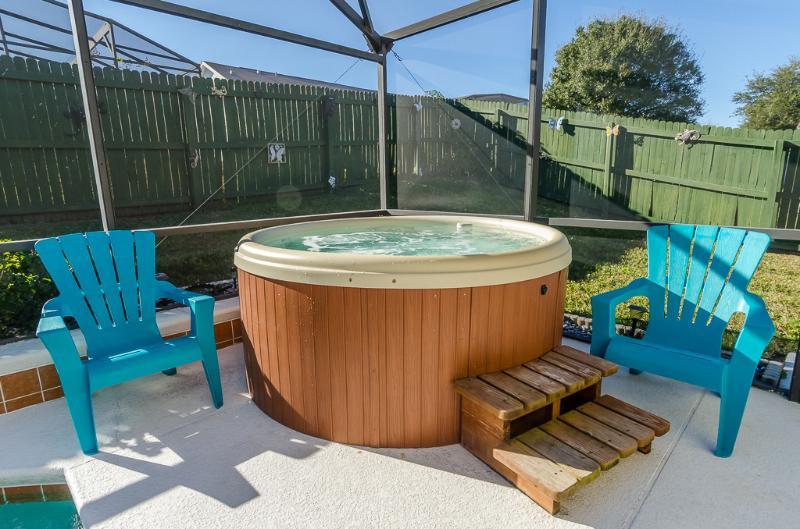 Enjoy the wonderful relaxing Hot tub - Secluded Pool, hot tub and backyard for privacy - Orlando - rentals