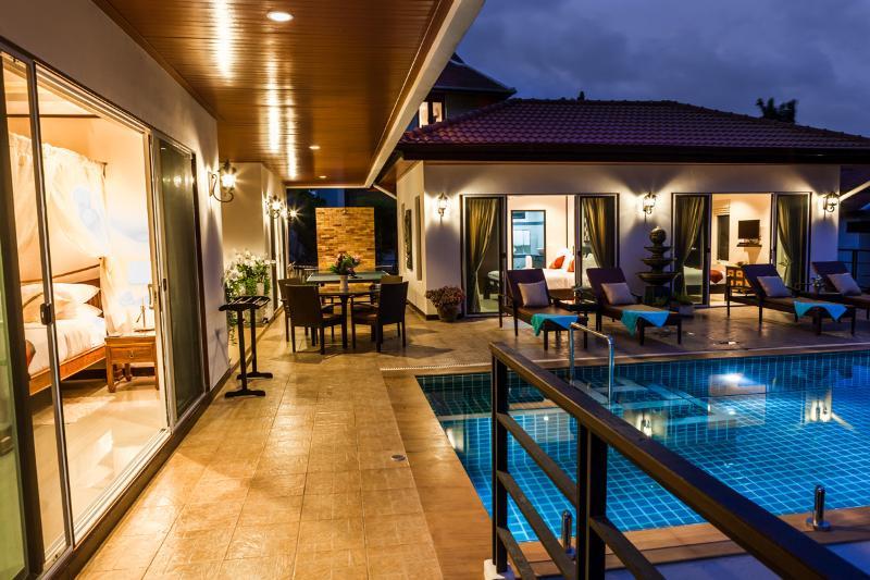 Samui Sunrise Seaview Villa - 3 Bedroom - Image 1 - Chaweng - rentals
