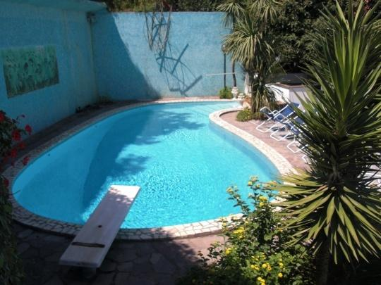 V443 A - Private pool and sea-view terraces in Sorrento - Image 1 - Priora - rentals