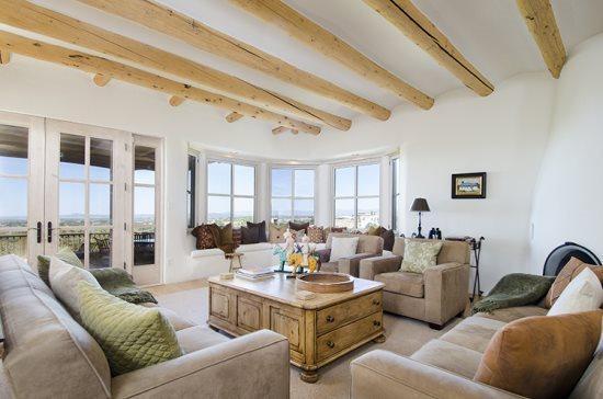 Living Room - Jewel of Circle Drive - Santa Fe - rentals
