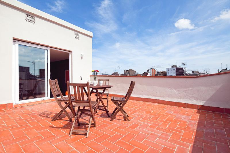 Rood terrace - Fantastic Penthouse w/roof terrace next to city ce - Barcelona - rentals