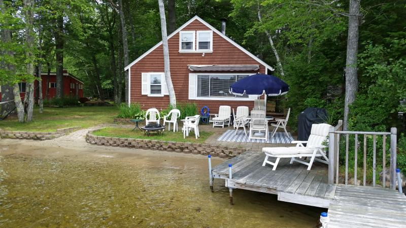 Taken from dock #1 - Little Sebago Lake Cottage - Gray - rentals