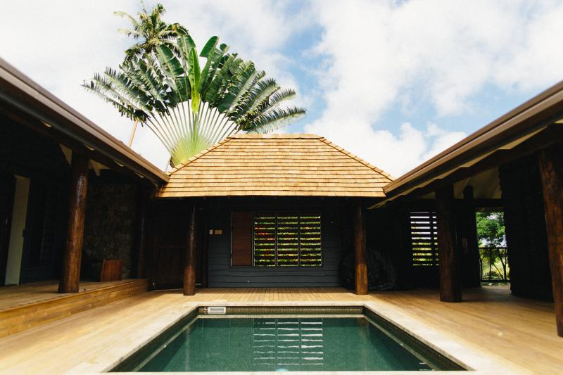 Private Courtyard - The Pod House with marble pool, complete privacy - Savusavu - rentals