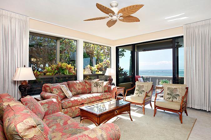 Unit 25 Ocean Front Prime Luxury 3 Bedroom Condo - Image 1 - Lahaina - rentals