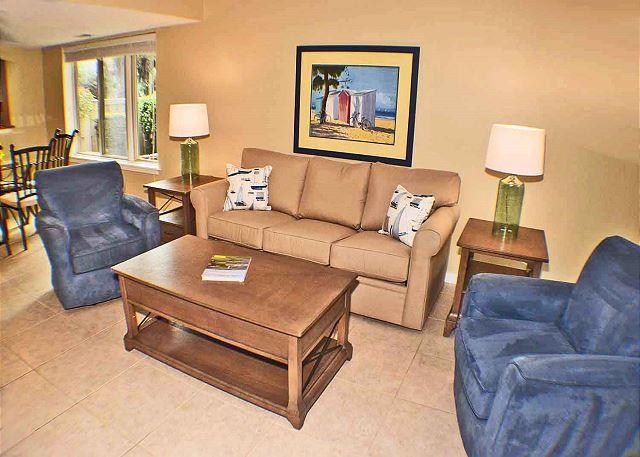 Courtside 97 - 1st Floor Flat - Wonderful Ground Floor Flat - Image 1 - Hilton Head - rentals