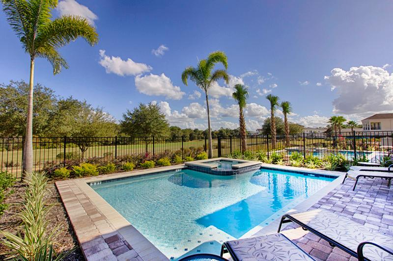 Golf View Pool Area - Fantastic 5 Bed 5 Bath Reunion Pool Home 761-REUN - Reunion - rentals