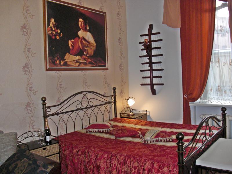 Master bed - Esplanade Park Sunny Flat - Riga - rentals
