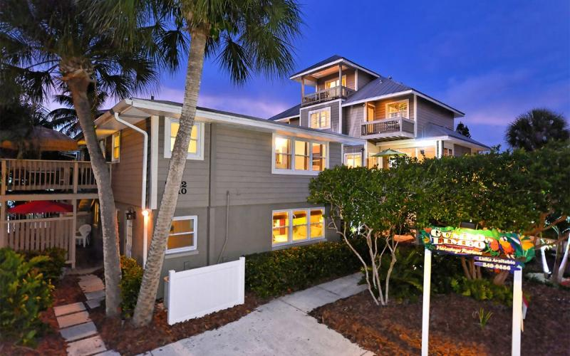 Key West is upstairs, Island Suite downstairs, left building - Key West & Island Suite - Siesta Key - rentals