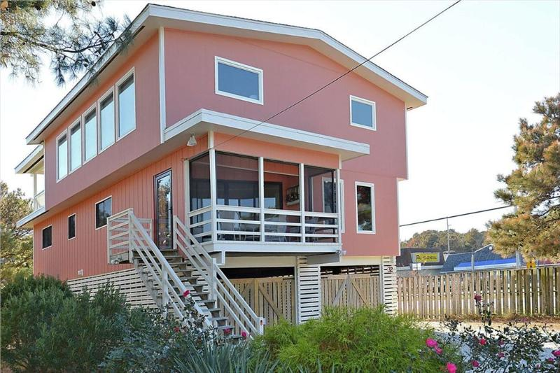 Close to the beach, 4 bedroom ocean view home with large deck and parking! - Image 1 - Bethany Beach - rentals