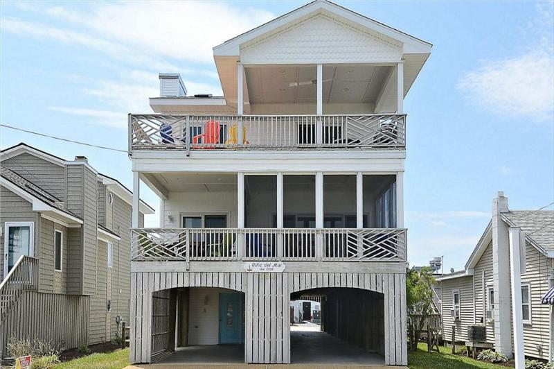 Ocean view 7 bedroom home with large decks and porch! - Image 1 - Bethany Beach - rentals