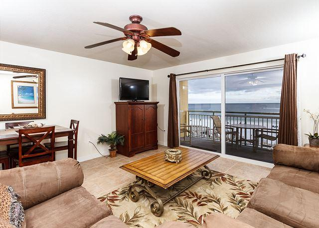 Amazing views from the 3rd floor unit and it's so much better on - PI 305: Amazing 3rd floor unit with cozy furnishings and WiFi,Free Beach Svc - Fort Walton Beach - rentals