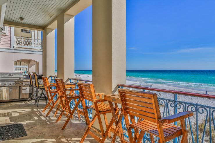Balcony view - Bella Beach - Destin - rentals
