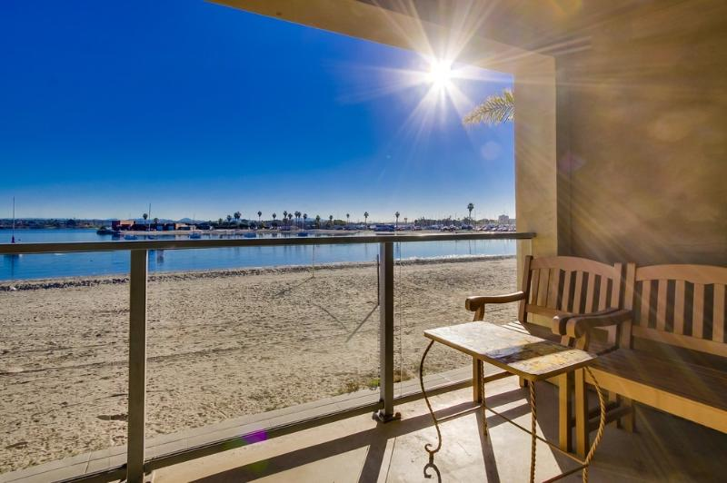 Sit down views - 3br+3ba Townhome On the Sand!!! - Pacific Beach - rentals