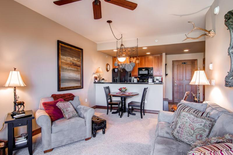 Comfortable  1 Bedroom  - 1243-26500 - Image 1 - Breckenridge - rentals