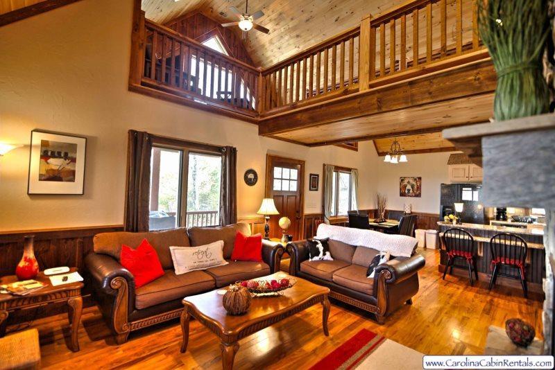 Silverleaf Living Room and Loft - Silverleaf - Boone - rentals
