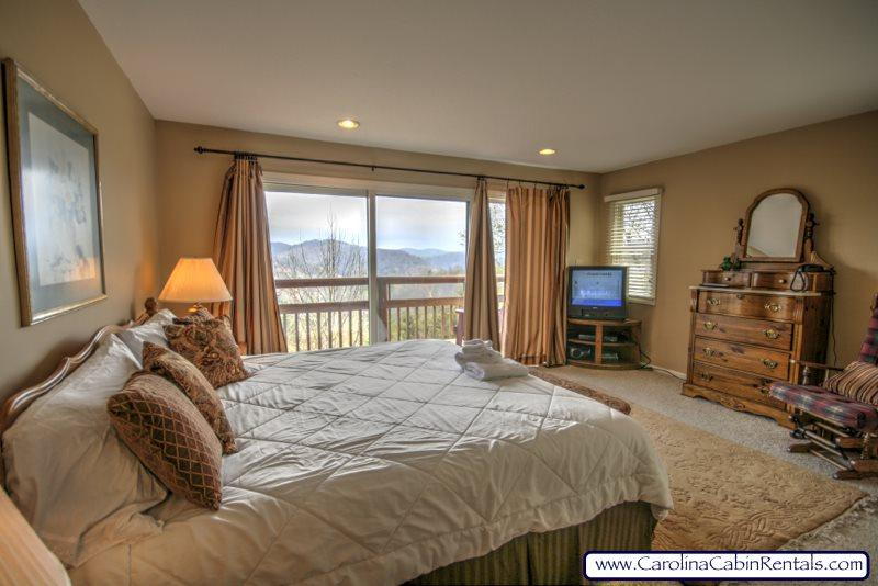 Southern Serenade King Bedroom Suite 3 - Southern Serenade - Boone - rentals