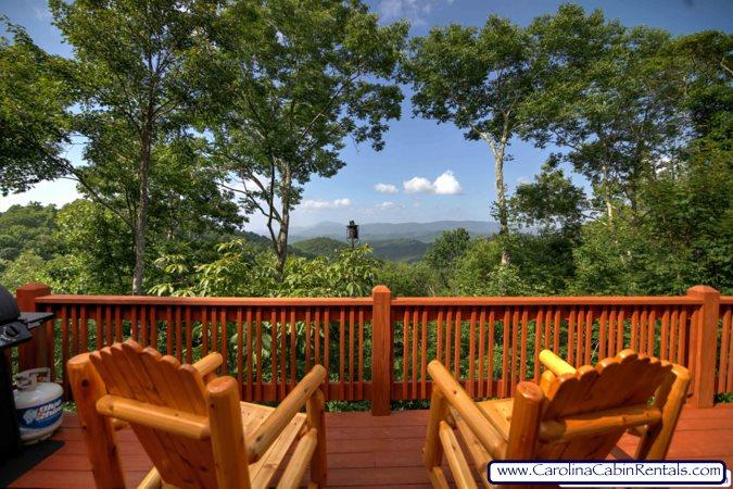 Valle Crucis Overlook - How about sitting here to enjoy a cup of coffee - Valle Crucis Overlook - Valle Crucis - rentals