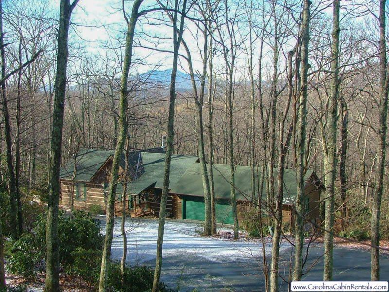 View of Grandfather - Celtic Cabin - Blowing Rock - rentals