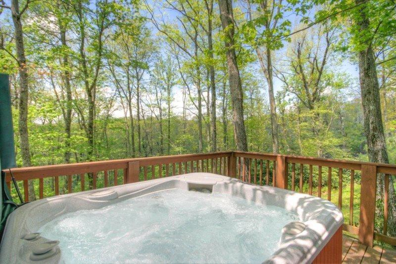 Celtic Cabin Hot Tub - Celtic Cabin and Bear Tracks Bungalow - Blowing Rock - rentals