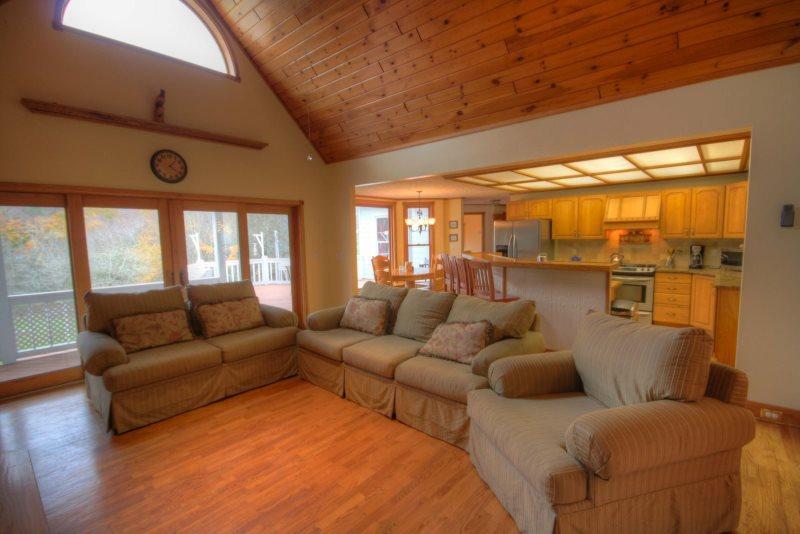 Main Living Area - The Vineyard - Banner Elk - rentals