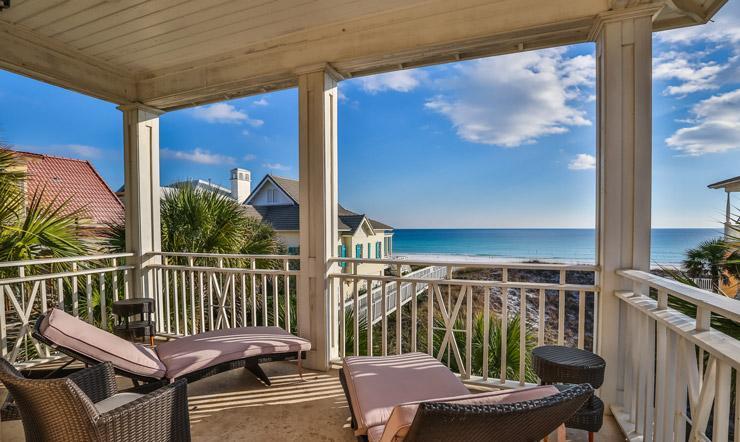Porch view - Caribbean Paradise - Miramar Beach - rentals