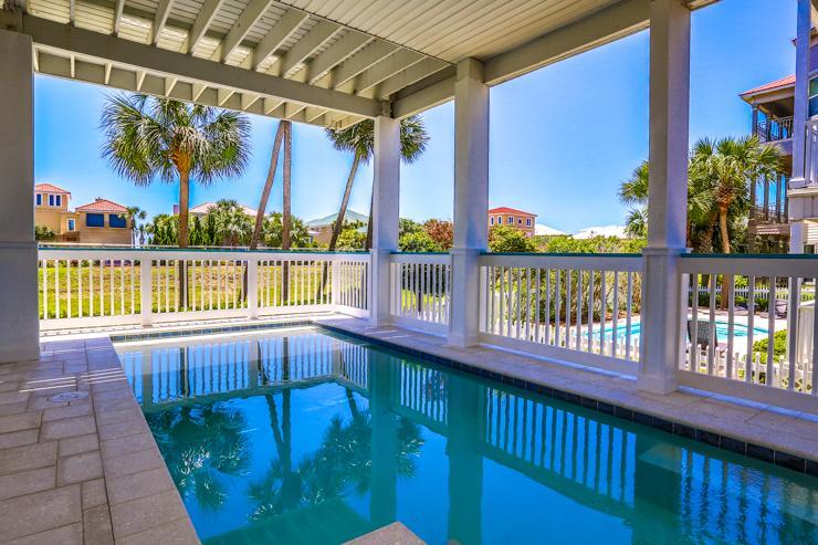 pool view - CORAL SHORES - Destin - rentals