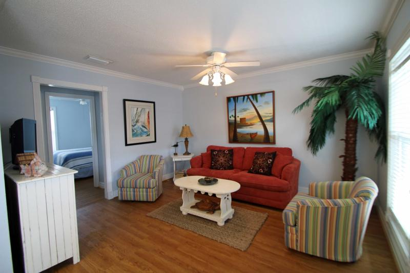 The Beach Front 2/1 Condominium on the Beach, Sleeps 6 - Image 1 - Gulf Shores - rentals