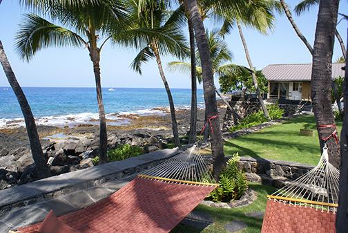 The most relaxing vacation ever- best seats in the house - Beautiful Oceanfront Kona Home- Private Beachfront - Kailua-Kona - rentals