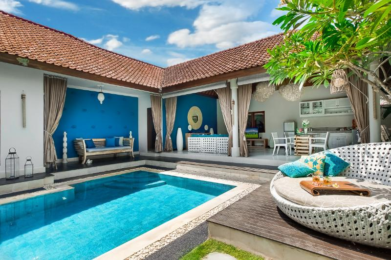 Villa Sea-overview - Best location in town! Cool & Funky. 4S Villas - Seminyak - rentals