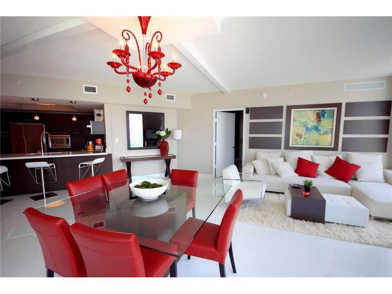 Living Room - ST. TROPEZ 3 BEDROOM APARTMENT  |  SUNNY ISLES - Sunny Isles Beach - rentals