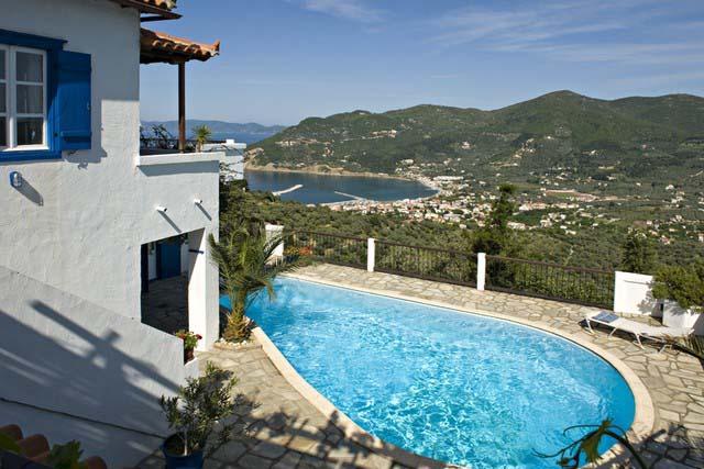 Villa with Breathtaking Views on the Greece Hillside - Villa Adonis - Image 1 - Skopelos - rentals