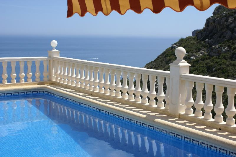 Heated pool with a view! - Casa Windlenook - TripAdvisor Award Winner 2014! - Moraira - rentals