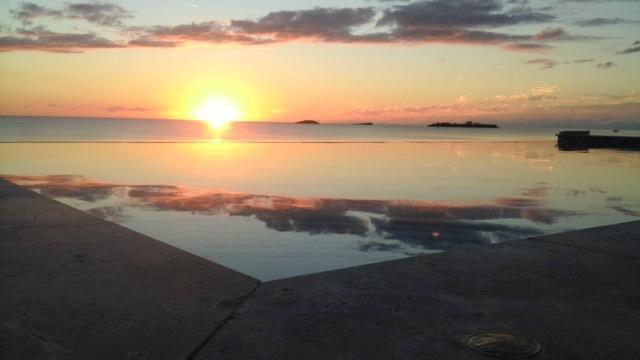 Enjoy amazing sunsets from the infinity pool - Luxury house on laid back Eleuthera - South Palmetto Point - rentals