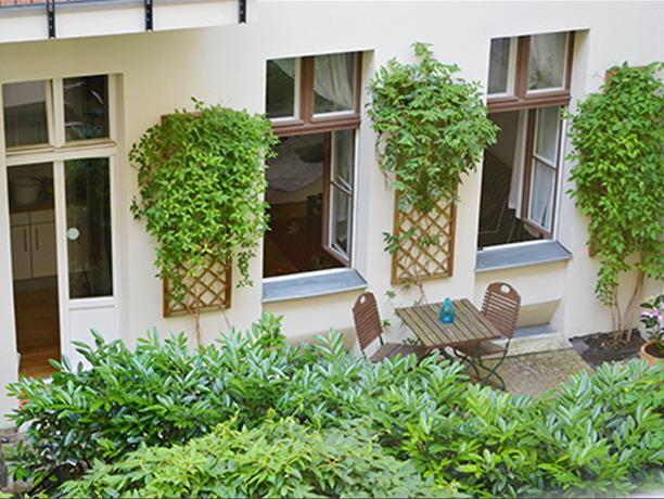 Patio Apartment - 'Berber' Prenzlauer Berg Apartment with Terrace - Berlin - rentals
