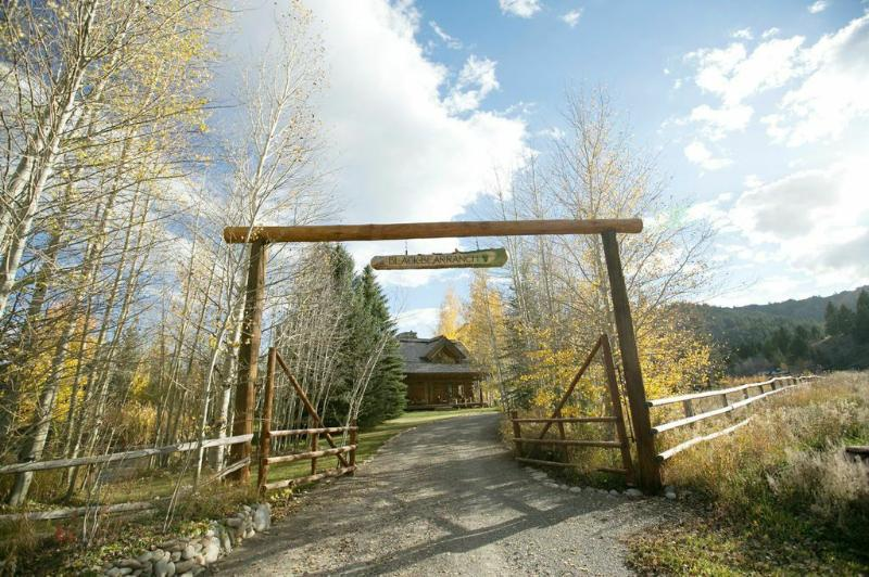 Entrance - BLACK BEAR RANCH - Ketchum - rentals