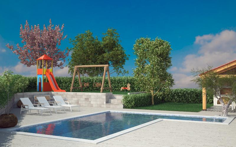 House Mirna new swimming pool 40m2 - Image 1 - Pula - rentals