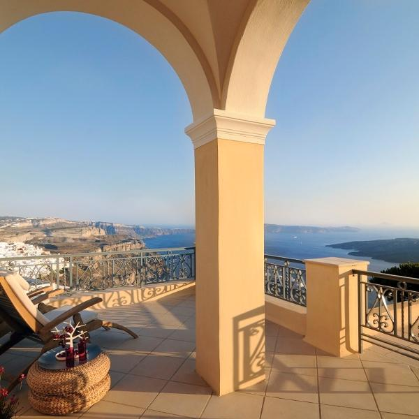 Peaceful, spacious total relaxation at the Mansion - Archipel Mansion,Great Views,Privacy and elegance - Santorini - rentals