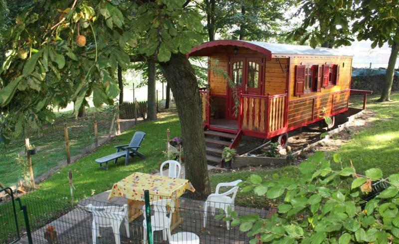 The lovely gypsy caravan - GYPSY CARAVAN ON ROAD NEAR Arras MEMORY 14-18 - Riviere - rentals
