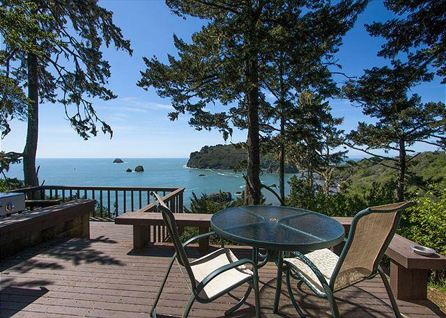 SEA CLIFF - SOAK UP THE OCEAN VIEWS! - Sea Cliff~ Romantic, Private Retreat Perched Above the Sea w/ Sunroom & Deck - Trinidad - rentals