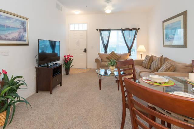VILLAS at SEVEN DWARFS (2602LC) - 3BR 2BA Townhome, Master downstairs, gated Resort - Image 1 - Kissimmee - rentals