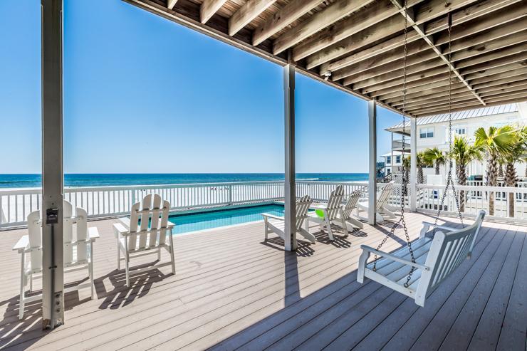 porch view - Storks Nest - Santa Rosa Beach - rentals