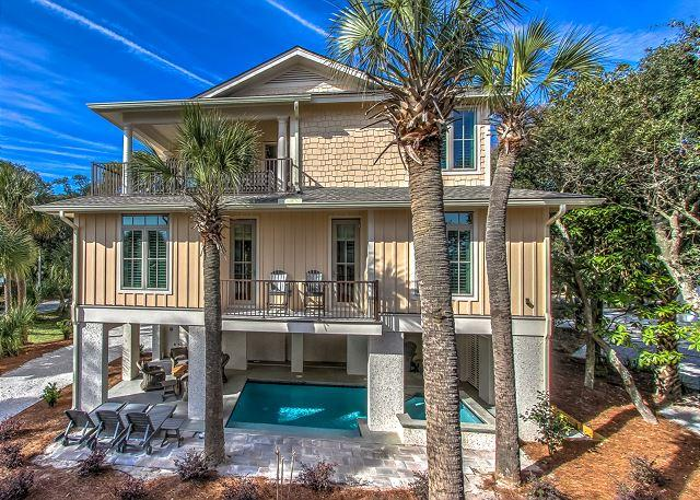 Rear Elevation - 77A Dune-Brand NEW & OCEAN VIEWS - Hilton Head - rentals