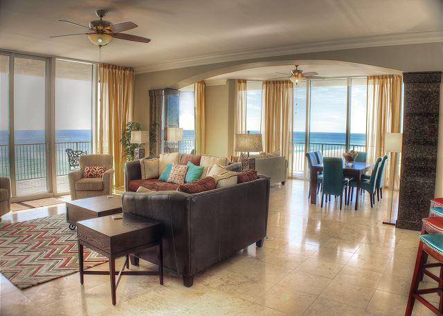 Living Room - Mediterranean - Open April 18 for 4 Nights - Total $1,750 - Pensacola - rentals