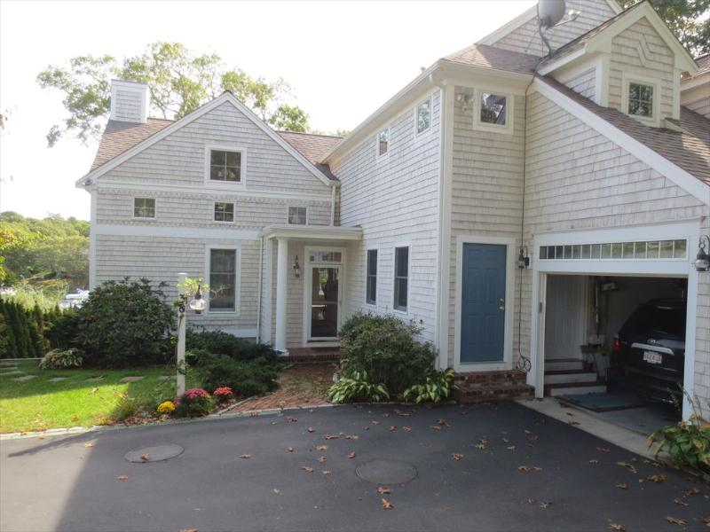 Front Exterior - DEEPWATER DOCK, 4 BEDROOMS, CENTRAL AIR!!! 124704 - East Falmouth - rentals