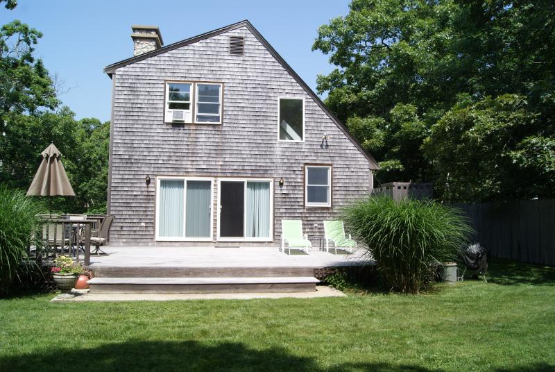 Exterior of House - RIORE - Close to Edgartown Center and Beaches,  Bike Paths 2/10 mile from house, Large and Private Deck, WiFi, AC in Bedrooms - Edgartown - rentals