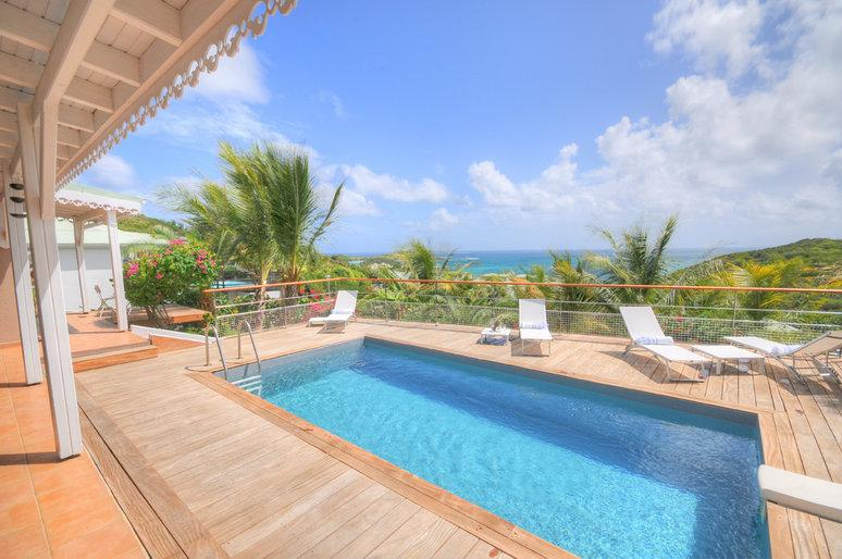 Orient Blue... French Cul de Sac, St Martin - ORIENT BLEU...Charming, Affordable, Immaculately kept French villa - Saint Martin-Sint Maarten - rentals